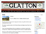 Glatton Village website