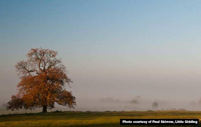morning mist, Little Gidding