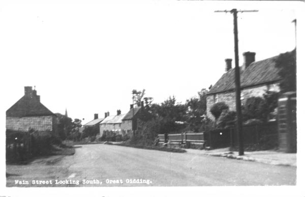 Main Street (west) Great Gidding No. 55