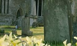 St Michael's churchyard spring