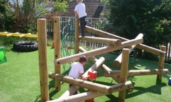 Great Gidding School climbing frame