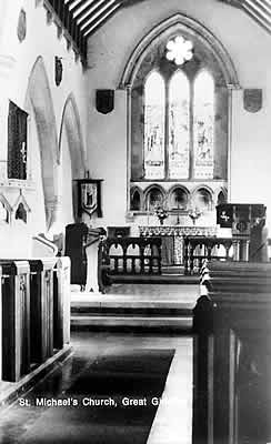 St Michael's interior - historical