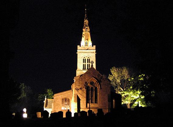 St Michael's night view