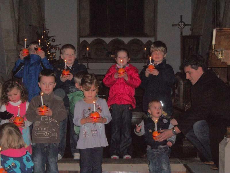 Christingle service, Saturday 10th December 2011