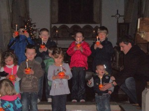 Christingle service, Saturday 10th December 2011