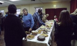 Tea party at the Village Hall