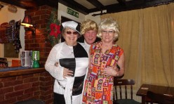 60's New Year's Eve party Fox and Hounds, Great Gidding