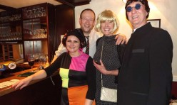 60′s fancy dress New Year's Eve Party at Fox and Hounds