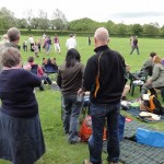 Gidding Diamond Jubilee Big Lunch and rounders match