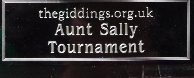 Aunt Sally Annual Tournament