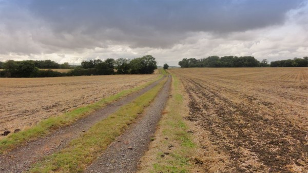 The path from Steeple Gidding to Little Gidding