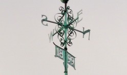Weather vane, St Andrew's, Steeple Gidding