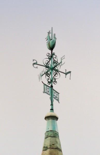 Weather vane, St Andrew's, Steeple Gidding