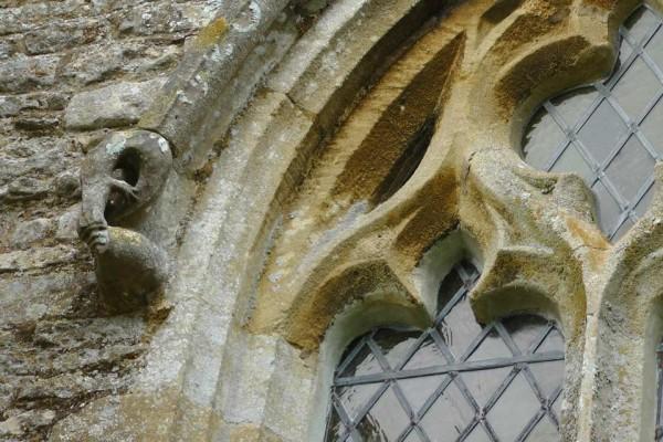 Gargoyle, St Andrew's, Steeple Gidding
