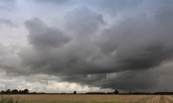 Storm clouds near Little Gidding