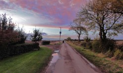 Hemington Lodge Road, Great Gidding, October 2012