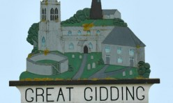 Great Gidding village sign