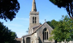 St Michael's Church, Great Gidding 2009
