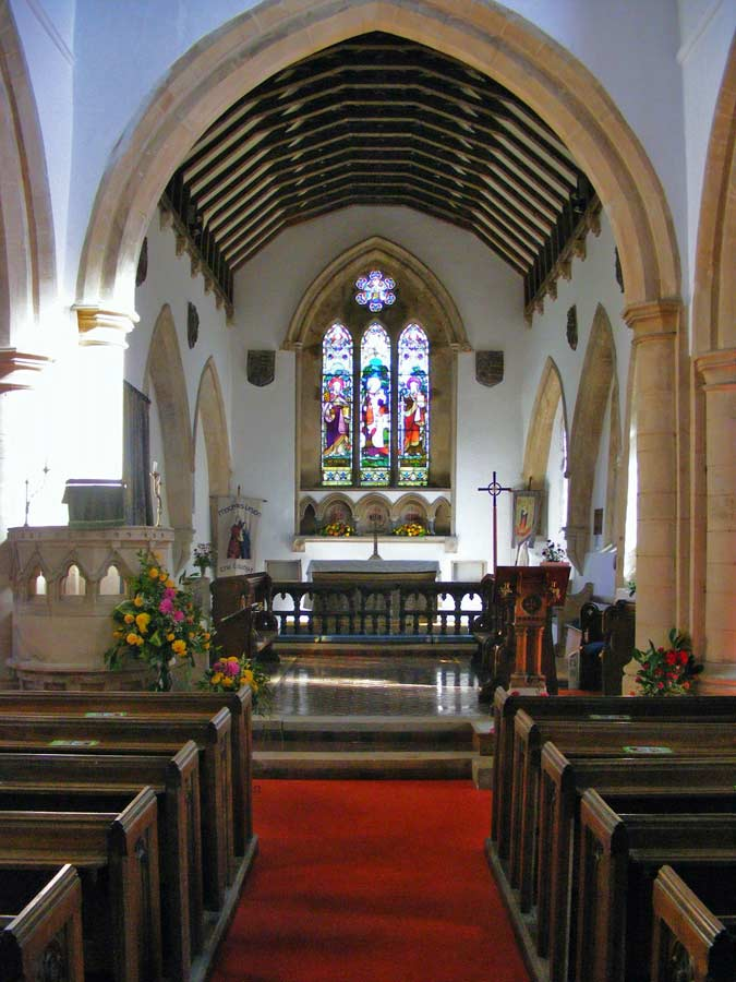 Nave, St Michael's Church, Great Gidding 2009