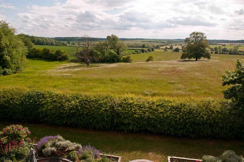 View from Ferrar House, Little Gidding. Photo: Paul Skirrow