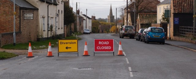 Why is the road closed ?