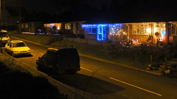 Christmas lights - Main Street