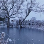 Snow in Great Gidding January 2013