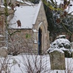 Snow in Steeple Gidding January 2013