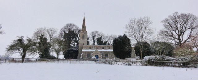 The Giddings in the snow, January 2013