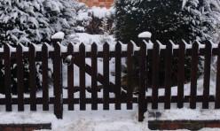 Garden gate on main Street