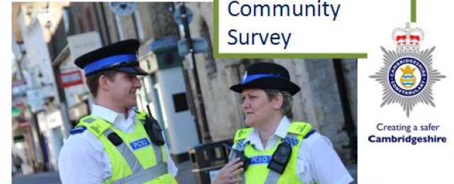 Take part in the 'Policing in Huntingdonshire' survey