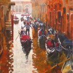 Early Morning,Venice. 600mm x 800mm – Paul Joseph-Crank