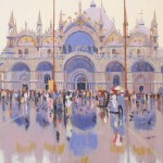 Reflection, St Marks. 800mm x 600mm – Paul Joseph-Crank