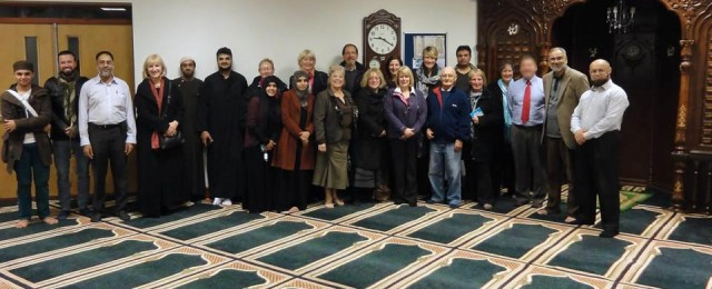 Great Gidding visit to two of Peterborough's mosques