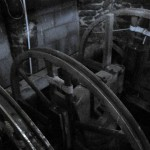 The Church bells in St Michael's Church tower, Great Gidding