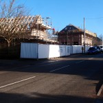Top Farm building progress on Main Street, Great Gidding