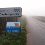 Roadworks, Luddington Road, Great Gidding