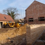 Top Farm House build on Main Street, Great Gidding
