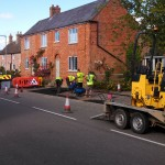 Footpath, Main Street, Great Gidding