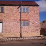 Street lights, Main Street, Great Gidding