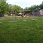 Ground works underway for a new property in Gains Lane, Great Gidding