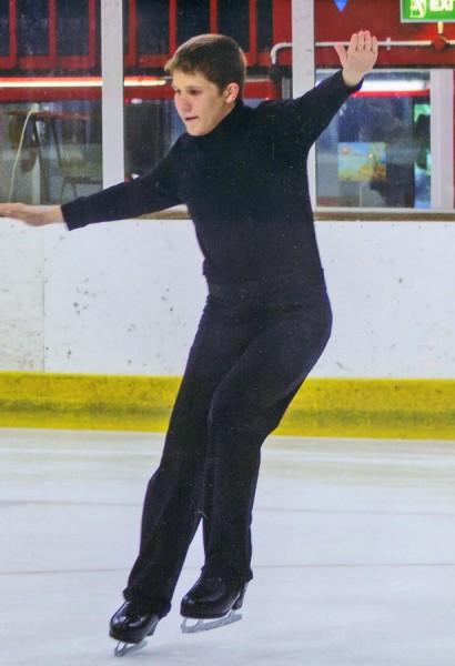 Great Gidding skater Calum Titmus