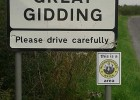 Great Gidding Neighbourhood Watch signs 2014