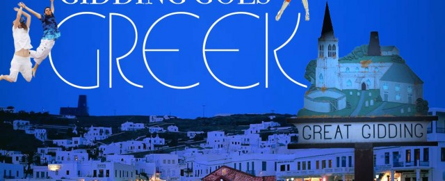 MAMMA MIA! Gidding Goes Greek