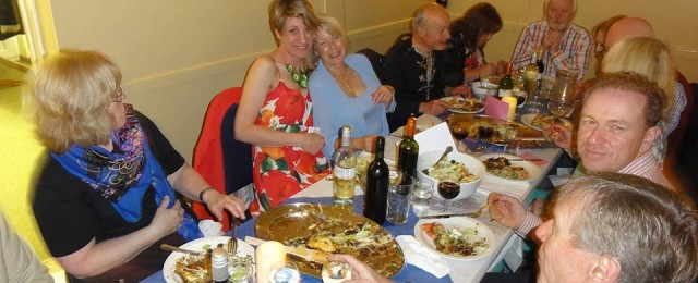 Video and photos: Greek Night at the Village Hall