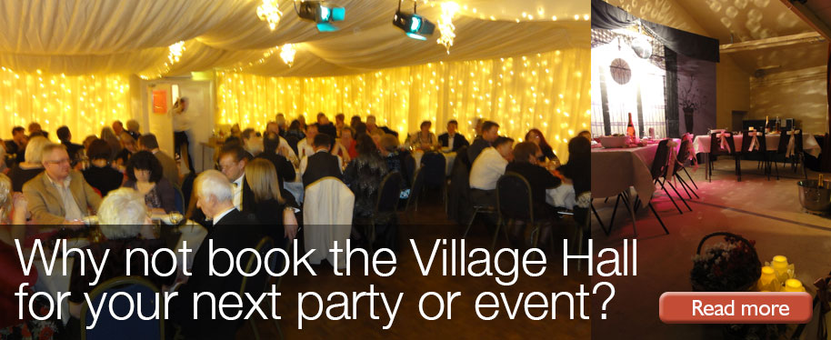 Great Gidding Village Hall - bookings