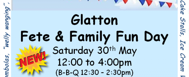 Glatton Fete & Family Fun Day
