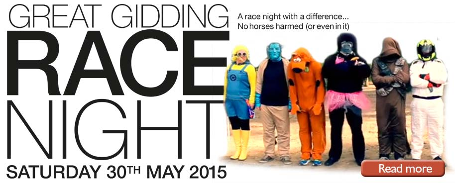 Great Gidding Race Night 2015