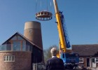 Topping-out Great Gidding Mill 2015