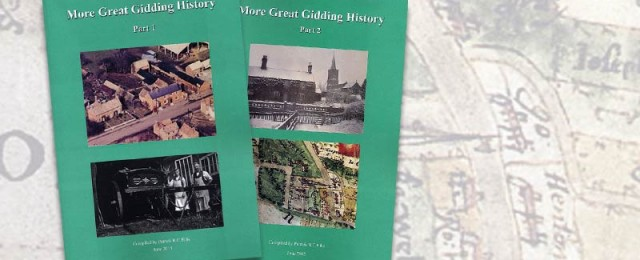 New book – More Great Gidding History – will shortly be on sale